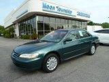 2002 Noble Green Pearl Honda Accord LX Sedan #67644765