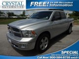 2009 Bright Silver Metallic Dodge Ram 1500 Big Horn Edition Crew Cab #67645051