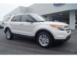 2013 White Platinum Tri-Coat Ford Explorer XLT #67644695