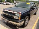 2005 Dark Blue Metallic Chevrolet Silverado 1500 LS Crew Cab 4x4 #67645013