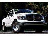 2008 Bright White Dodge Ram 1500 Lone Star Edition Quad Cab #67713269