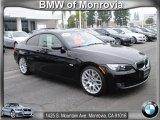 2009 Jet Black BMW 3 Series 328i Coupe #67713144