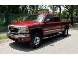 2005 Sport Red Metallic GMC Sierra 2500HD SLT Crew Cab 4x4 #67713125