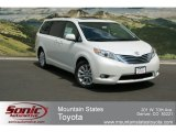 2012 Super White Toyota Sienna Limited AWD #67712987