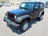 2012 Black Jeep Wrangler Sport 4x4 #67713217