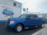 2012 Blue Flame Metallic Ford F150 STX SuperCab #67713086