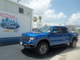 2012 Blue Flame Metallic Ford F150 SVT Raptor SuperCrew 4x4 #67713080