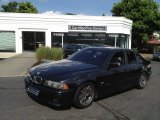 2000 Cosmos Black Metallic BMW 5 Series 540i Sedan #67713071