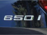 BMW 6 Series 2012 Badges and Logos