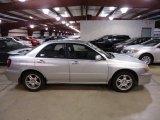 2002 Subaru Impreza 2.5 RS Sedan Exterior
