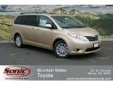2012 Sandy Beach Metallic Toyota Sienna XLE AWD #67735616