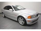 2001 Titanium Silver Metallic BMW 3 Series 330i Coupe #67735677