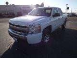 2011 Summit White Chevrolet Silverado 1500 LS Crew Cab 4x4 #67735661