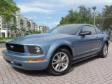 2005 Windveil Blue Metallic Ford Mustang V6 Premium Coupe #67745879