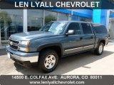 2006 Blue Granite Metallic Chevrolet Silverado 1500 LT Crew Cab 4x4 #67744778