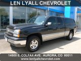 2004 Dark Gray Metallic Chevrolet Silverado 1500 LS Extended Cab 4x4 #67744769