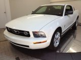 2007 Performance White Ford Mustang V6 Premium Coupe #67745818
