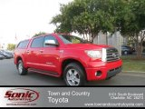 2008 Radiant Red Toyota Tundra Limited CrewMax 4x4 #67745295