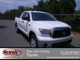 2012 Super White Toyota Tundra SR5 Double Cab 4x4 #67745289