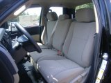 2012 Toyota Tundra Double Cab Sand Beige Interior