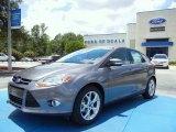 2012 Sterling Grey Metallic Ford Focus SEL 5-Door #67744735