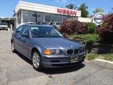 2001 Steel Blue Metallic BMW 3 Series 325i Sedan #67744730