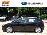 2012 Obsidian Black Pearl Subaru Impreza 2.0i Premium 5 Door #67744708