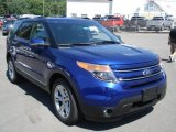 2013 Deep Impact Blue Metallic Ford Explorer Limited 4WD #67745739