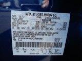2013 Explorer Color Code for Deep Impact Blue Metallic - Color Code: J4
