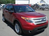 2013 Ruby Red Metallic Ford Explorer XLT 4WD #67745737