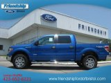 2012 Blue Flame Metallic Ford F150 XLT SuperCrew 4x4 #67744647