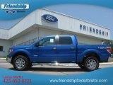 2012 Blue Flame Metallic Ford F150 XLT SuperCrew 4x4 #67744647
