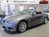 2012 Space Grey Metallic BMW 3 Series 328i Convertible #67744629