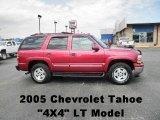 2005 Sport Red Metallic Chevrolet Tahoe LT 4x4 #67745693