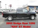 2005 Black Dodge Ram 1500 Sport Quad Cab 4x4 #67745691