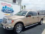 2012 Pale Adobe Metallic Ford F150 XLT SuperCrew #67744596