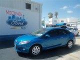 2012 Blue Candy Metallic Ford Focus SE Sedan #67744590
