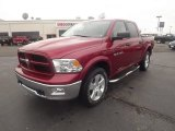 2012 Deep Cherry Red Crystal Pearl Dodge Ram 1500 Outdoorsman Crew Cab 4x4 #67745144