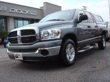 2007 Mineral Gray Metallic Dodge Ram 1500 SLT Quad Cab #67744567