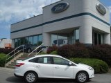 2012 Oxford White Ford Focus SE Sedan #67744520
