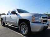 2011 Sheer Silver Metallic Chevrolet Silverado 1500 LS Extended Cab #67745095