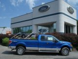 2012 Blue Flame Metallic Ford F150 XLT SuperCab 4x4 #67744516
