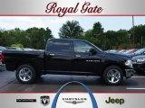 2012 Black Dodge Ram 1500 Big Horn Crew Cab 4x4 #67744502