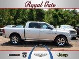 2012 Bright Silver Metallic Dodge Ram 1500 Sport Crew Cab 4x4 #67744501