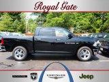2012 Black Dodge Ram 1500 SLT Crew Cab 4x4 #67744500