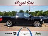 2012 Black Dodge Ram 1500 Sport Crew Cab 4x4 #67744498