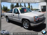 2004 Silver Birch Metallic Chevrolet Silverado 1500 LS Regular Cab #67745032