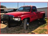 2000 Flame Red Dodge Ram 3500 ST Regular Cab Dually #6570076