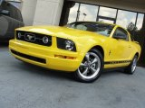 2006 Screaming Yellow Ford Mustang V6 Premium Coupe #67744971
