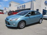 2012 Frosted Glass Metallic Ford Focus SE Sedan #67744967